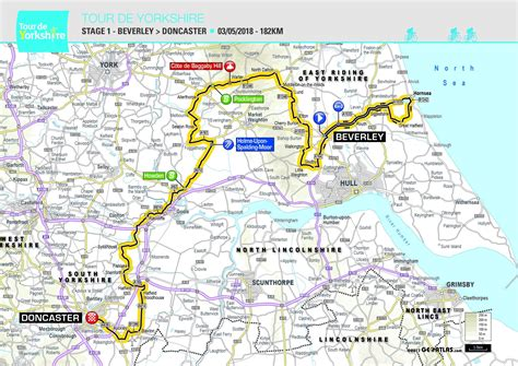the 2017 tour de yorkshire see maps of the routes tyne tees itv feature route for tour de yorkshire velouk net