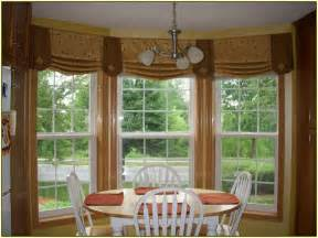 Window Treatment Ideas For Bow Windows window treatments for kitchen window over sink home design ideas