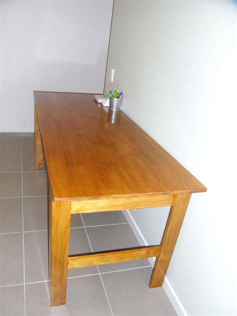 Narrow Farm Table by White Narrow Farmhouse Table Diy Projects