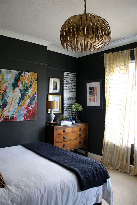 Black Walls Bedroom by Best 25 Bedroom Walls Ideas On