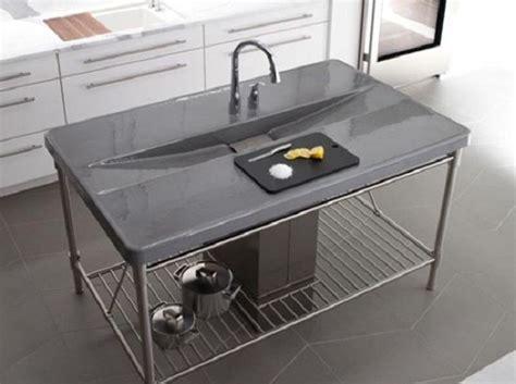 kitchen sink in island 16 creative and modern kitchen sink ideas