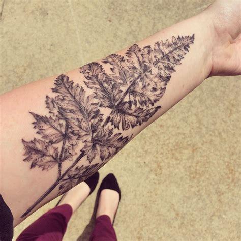milwaukee tattoo designs fern leaf by turowski milwaukee s t y l e