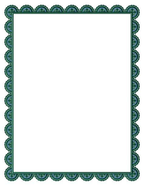calendar design border border designs