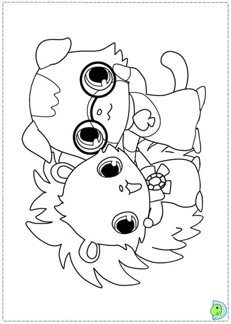 jewel coloring sheet coloring pages