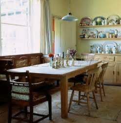 Country Style Kitchen Tables El002 02 Large Wooden Kitchen Table And Chairs In A C Narratives Photo Agency