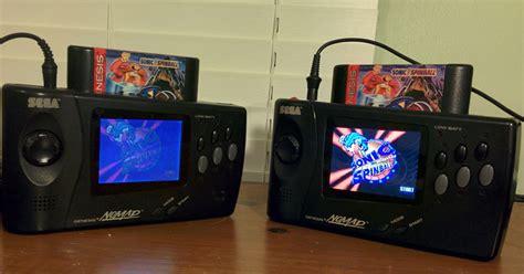 game gear display mod sega nomad mods i new lcd screen