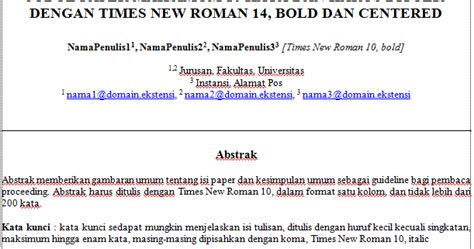 format resume jurnal yang baik contoh resume jurnal yang baik gontoh