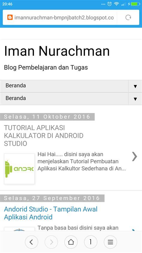 tutorial membuat kalkulator di android studio oktober 2016 iman nurachman
