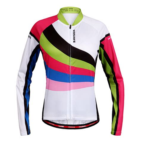 design jersey long sleeve wosawe 2016 new design for pro team womens long sleeve