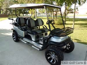 custom stretch six passenger limo golf carts for sale