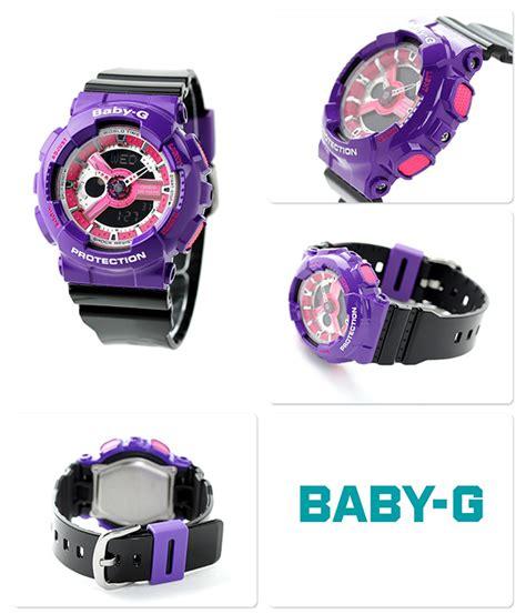 Ba 110nc 6a casio baby g purple analog ba 110nc 6a ba