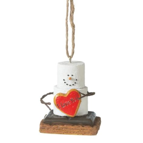 s mores i love you christmas ornament