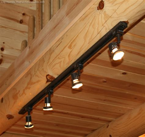 Log Cabin Lighting Ideas by Kitchen Track Lighting Pthyd