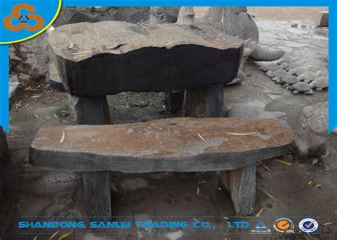 banco de piedra para jardin decorativo jard 237 n al aire libre pizarra banco de