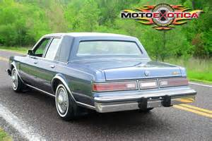 1987 Chrysler Fifth Avenue 1987 Chrysler Fifth Avenue Motoexotica Classic Car Sales