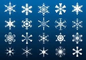 snowflakes photoshop brushes psd gimp design