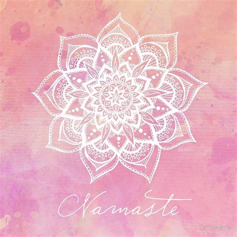 Kids Christmas Duvet Cover Quot Namaste Rose Quartz Quot Art Prints By Carlymarie Redbubble