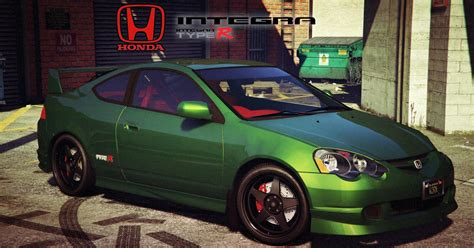Car Mod Types by Honda Integra Type R Gta5 Mods