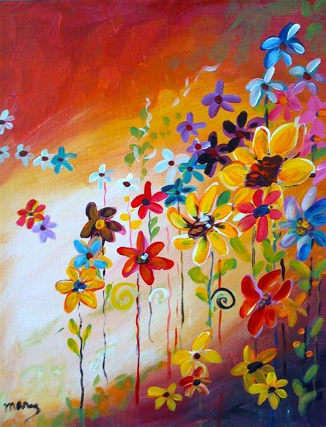 painting with a twist autumn bouquet painting with a twist painting with a
