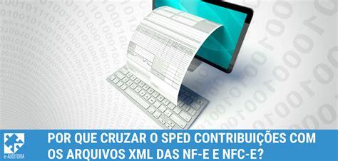 novo layout nf e 3 1 por que cruzar o sped contribui 231 245 es com os arquivos xml