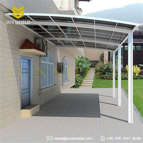 Aluminum Carport Kits Canada by Polycarboante Patio Cover Aluminum Patio Awning Sunshield
