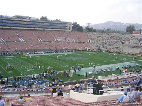 section 15 a rose bowl seating chart interactive seat map seatgeek
