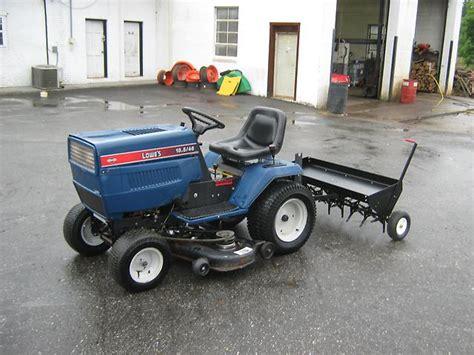 Lowes Garden Tractors by Lowe S 18 5hp 46in Cut Garden Tractor Plugger Ebay