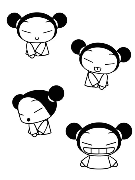 coloring page pucca coloring pages 5