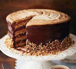 hazelnut latte cake | bbc good food
