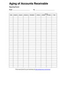 Accounts Receivable Aging Report Template Aging Of Accounts Receivable Template Doc