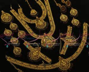 br7551 full bridal wedding jewellery set traditional south