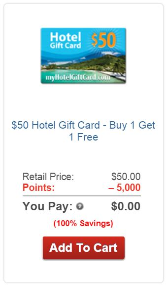 My Hotel Gift Card - aarp rewards for good any good frequent miler