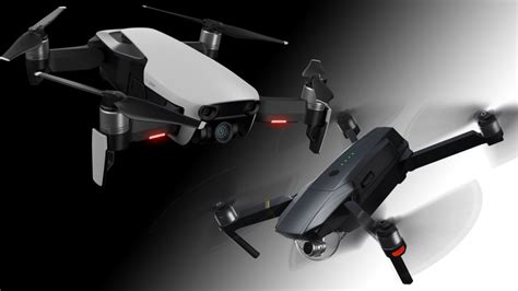 dji mavic air  mavic pro  foldable drone