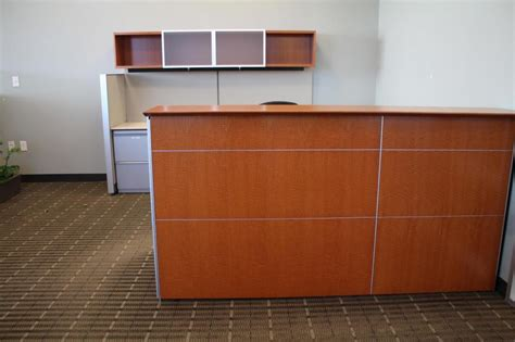 Knoll Reception Desk Used Office Reception Area Knoll Reff Reception Desks At Furniture Finders
