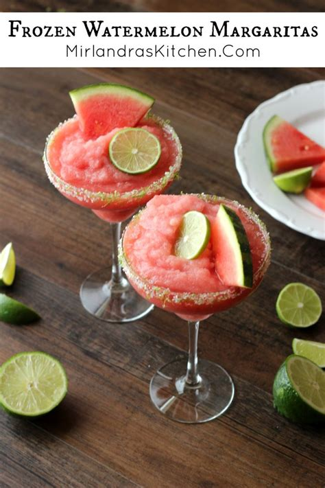 frozen watermelon 25 best ideas about drinks on pinterest summer drinks