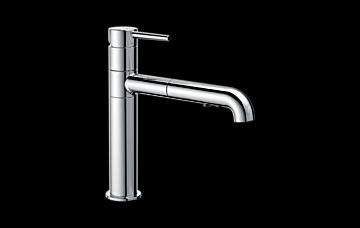 delta faucet 4159 trinsic single handle pull out sprayer 4159 dst trinsic 174 single handle pull out kitchen faucet