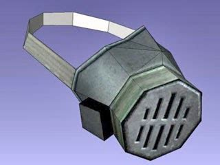 Papercraft Gas Mask - papercraft gas mask respirator paperkraft net