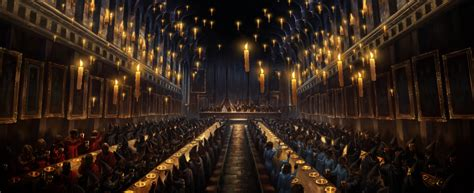 the great hall harry potter the great hall in mourning pottermore