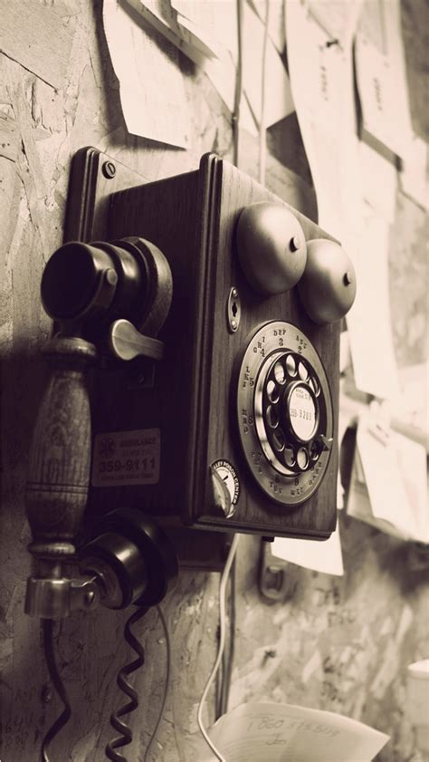 classic wallpaper phone vintage telephone background