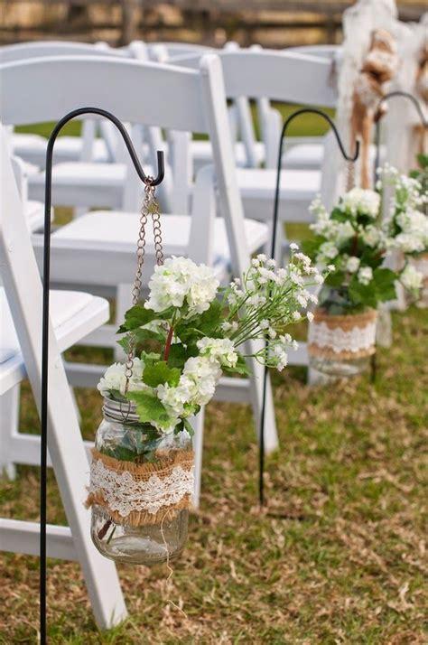 chic rustic burlap lace wedding ideas  inspiration