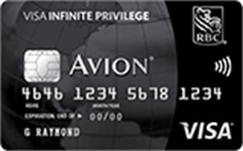 royal bank mastercard westjet avion visa infinite privilege rbc royal bank