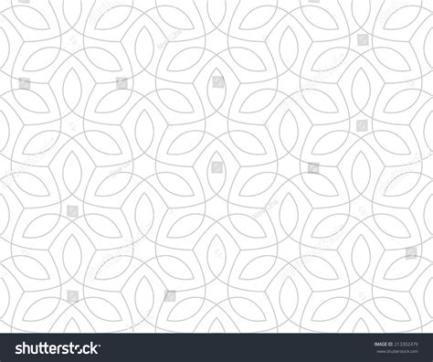 arab traditional pattern seamless pattern traditional arabic design stock vector