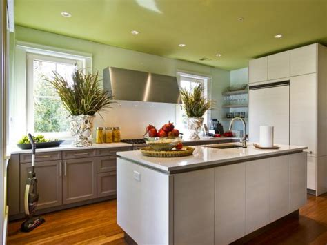 customize your kitchen with a painted island hgtv painting kitchen ceilings pictures ideas tips from