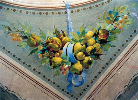 decorazioni soffitti soffitti decorati restauro affreschi affreschi