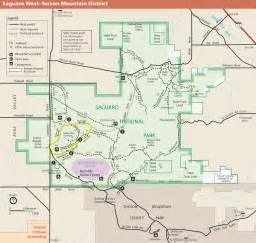 map of us national parks west file saguaro national park west map png
