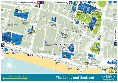 printable maps brighton brighton city center map