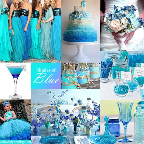 blue wedding colors color of the month mass fashion 101