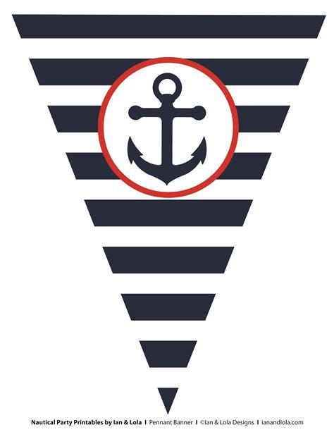 nautical template free free nautical printables from ian lola designs