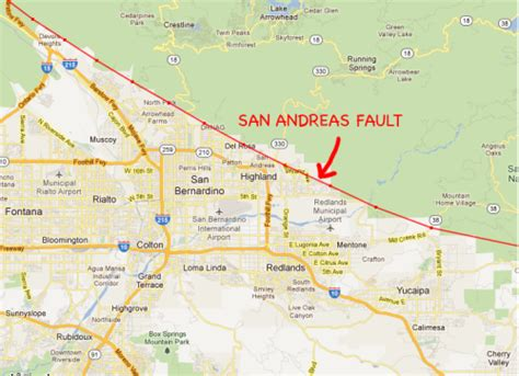 san andreas fault line map we visit the doomed homes on the san andreas fault culture of news