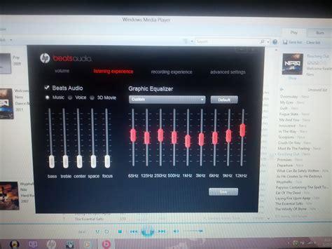 Hp Htc Beats Audio beats audio fluctuates on dv6 70xx dv7 70xx model